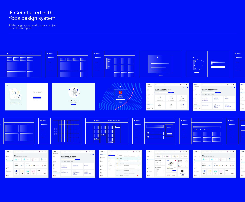 Yoda | React Admin Template React Hooks Redux Toolkit Ant Design - 3